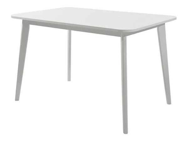 pencil leg white dining table singapore