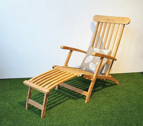 ... SAN DIEGO foldable teak steamer deck chair ... & CLASSIC Teak Deck Chair - HEMMA.sg u2013 Hemma Online Furniture Store ...