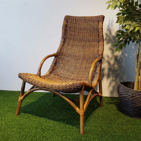 rattan relax lounge armchair couch singapore