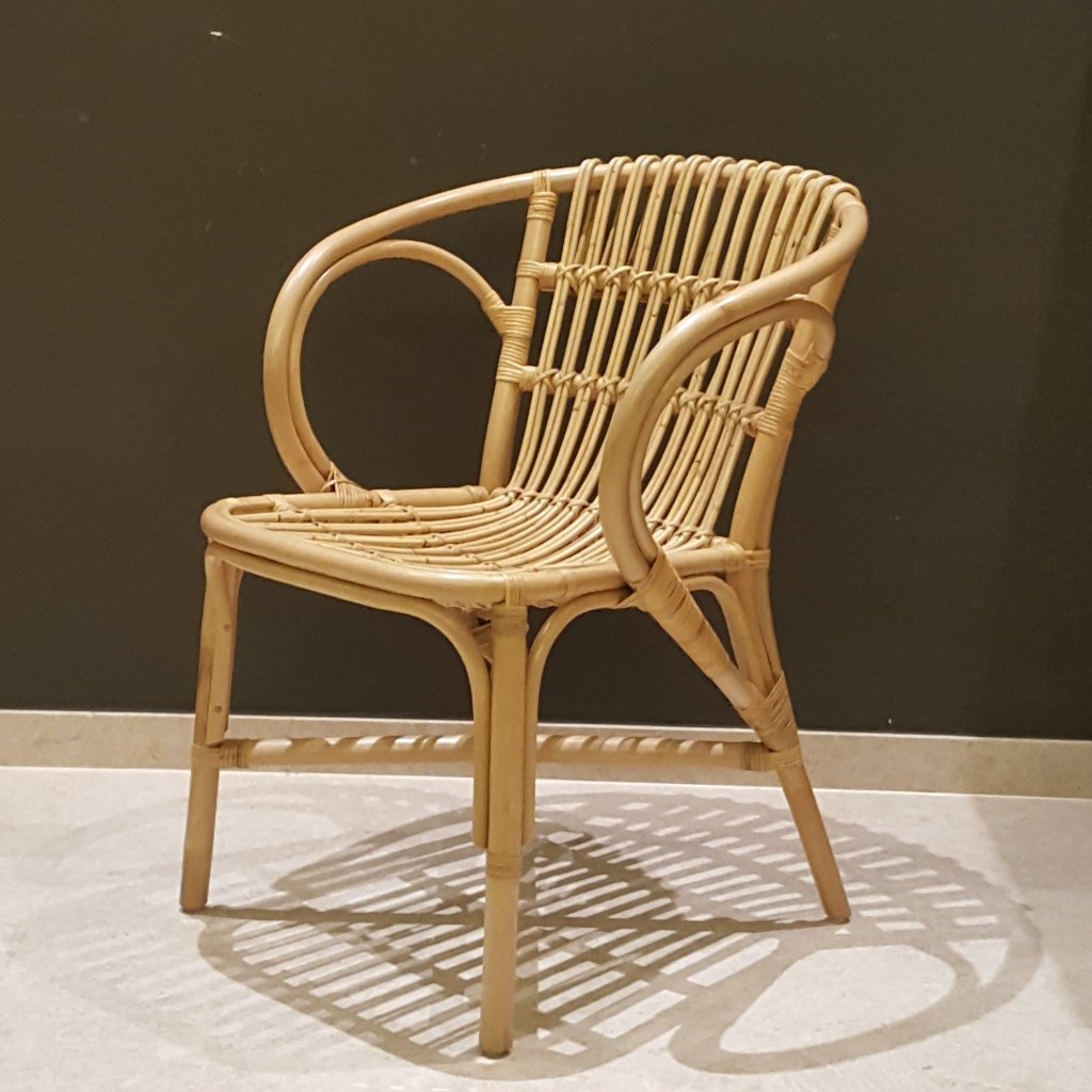 rattan dining chair bohemian interior singapore