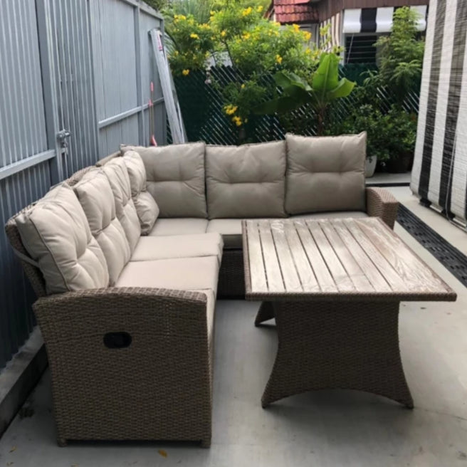 singapore comfortable outdoor sofa set