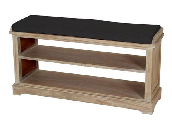 wooden bench with rack singapore