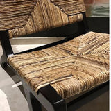 Banana fiber teak lounge chair singapore