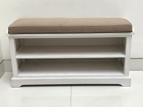 ... singapore · CECILIA white wooden bench with storage shelves and seat cushion suitable for shoe rack ... & CECILIA bench with shoe rack - HEMMA u2013 Hemma Online Furniture ... islam-shia.org