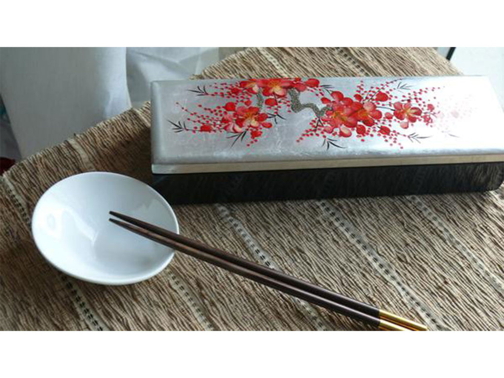 Gift box with chopstick
