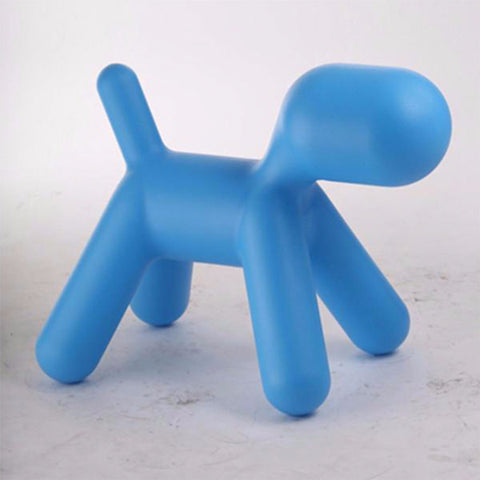 blue dog stool plastic singapore