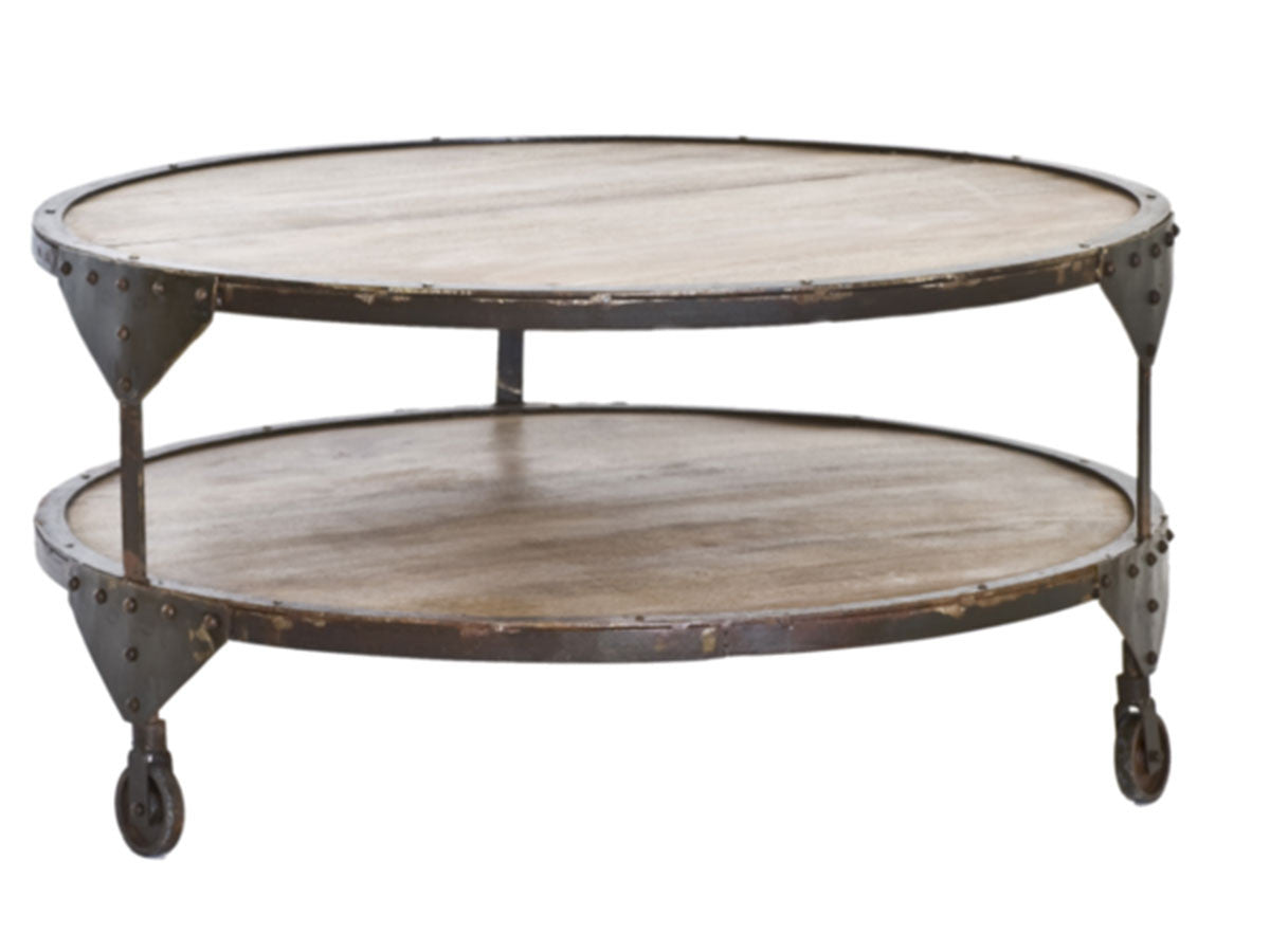 Picture of: Bombay Round Reclaimed Wood Coffee Table Hemma Sg Hemma Online Furniture Store Singapore