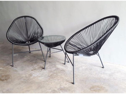 ... String Acapulco Balcony Chair And Table Set ...