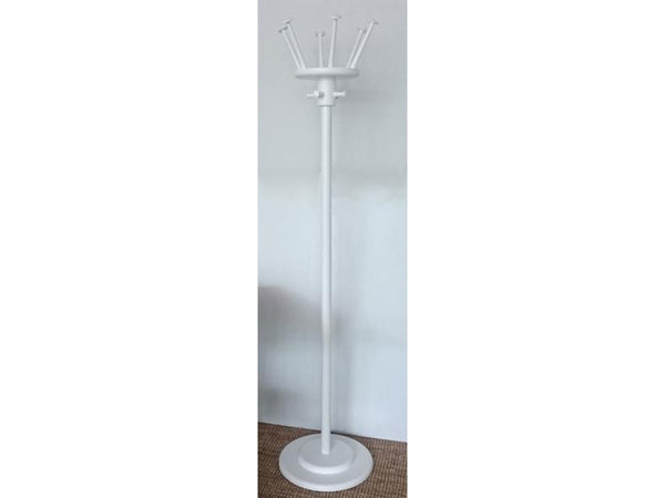Fame Drum coat hanger and hat stand, white