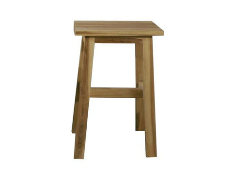 Tall bar counter teak stool singapore