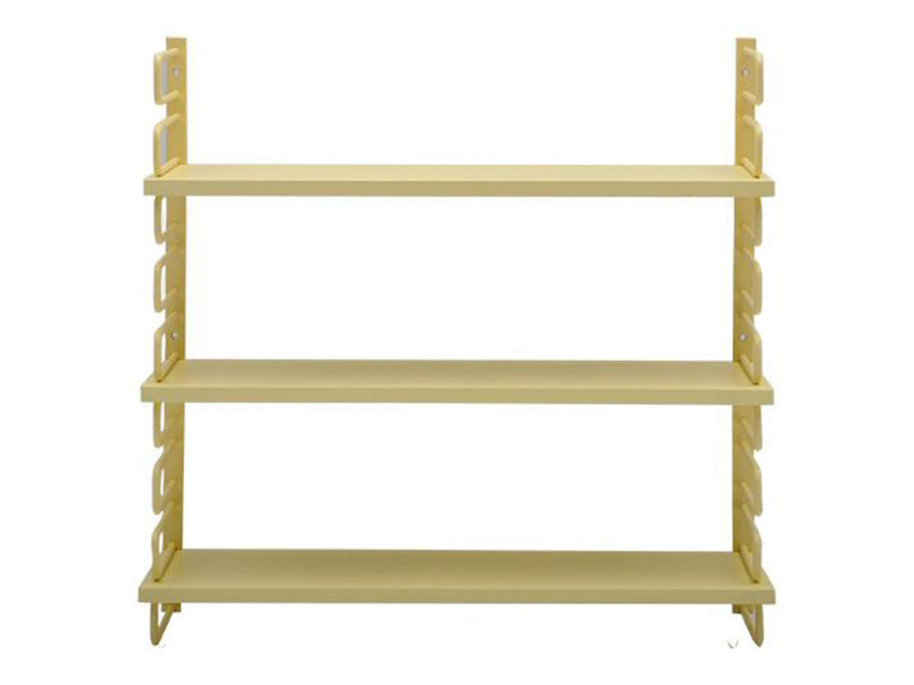 yellow metal string inspired wall mount shelves singapore