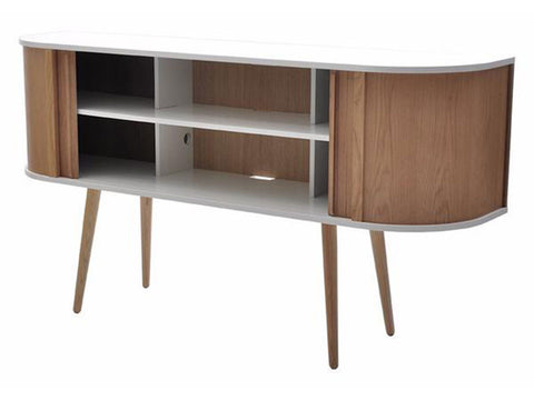 Hugo Contemporary Scandinavian Style Sideboard in Oak