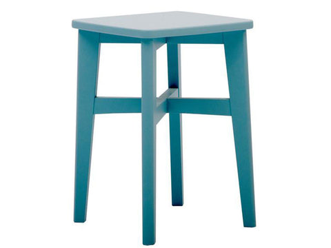 Turquoise Wooden Stool Singapore