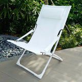 Folding Hammock Chair, White