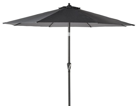 Gotland, parasol umbrella in grey, 3m