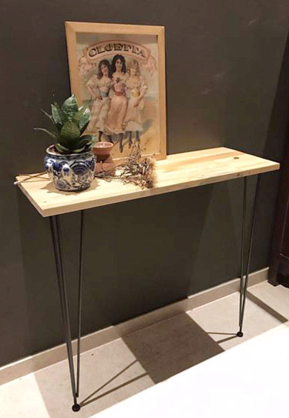 wooden console small table singapore