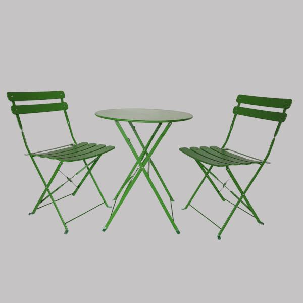 ARUBA Cafe Metal Set , Forest Green