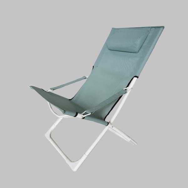 BREEZE Folding  Chair, Light Green