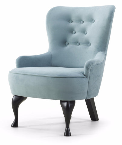 Amelitha Small Armchair, Light Turquoise