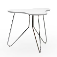 Form side table, white
