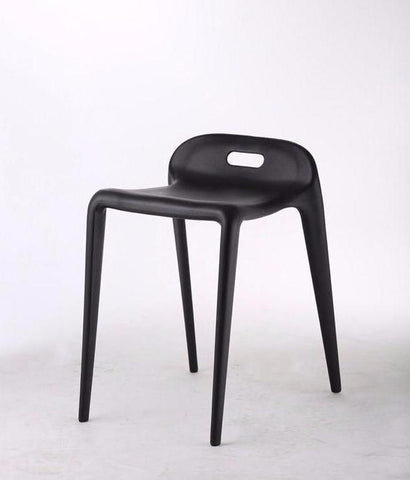 Bambam  stool, Black