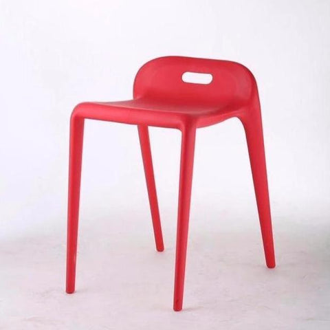 Bambam  stool, Red