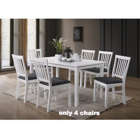 Gothenburg table 140x90 + 4 Lerdala chairs