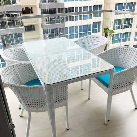 Outdoor Dining Set Wicker Singapore ...
