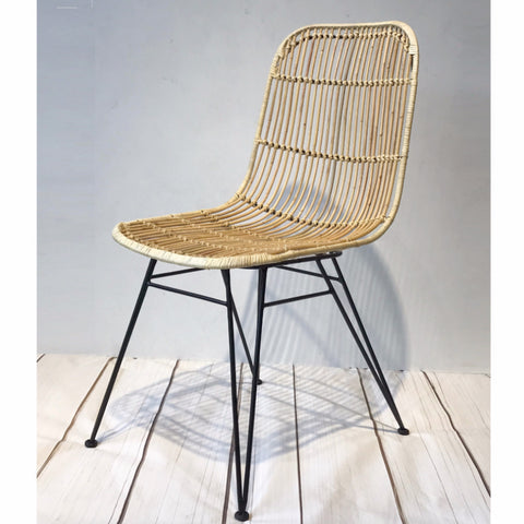 espresso rattan dining chair hemma online furniture