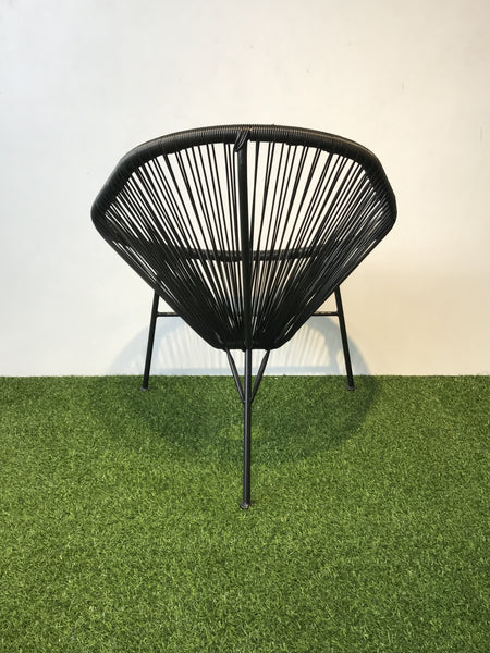 Clearance String Table And Chairs Set Black Hemma