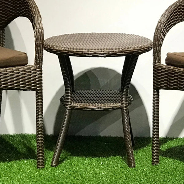 Cannes small outdoor table. Clearance, 1 pc available.