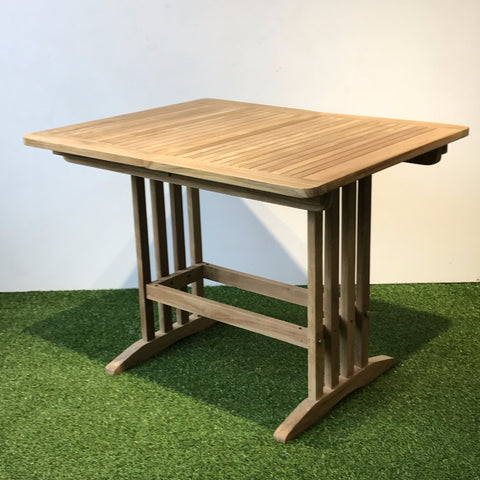 extendable small teak table singapore