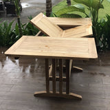 Mini Landsort extendable 110/150x80cm table