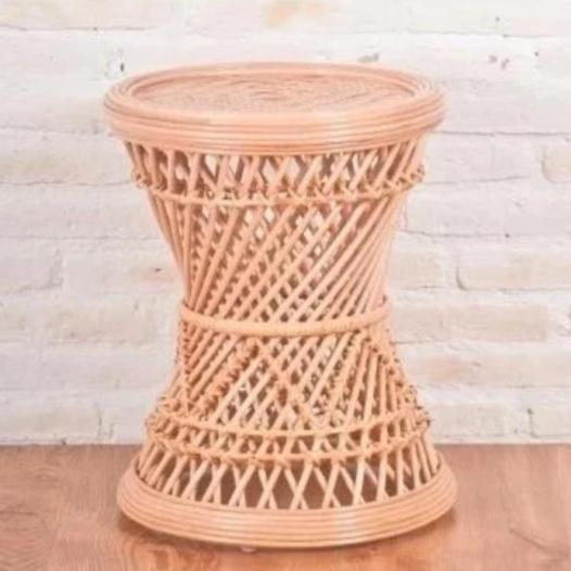 rattan drum stool or table
