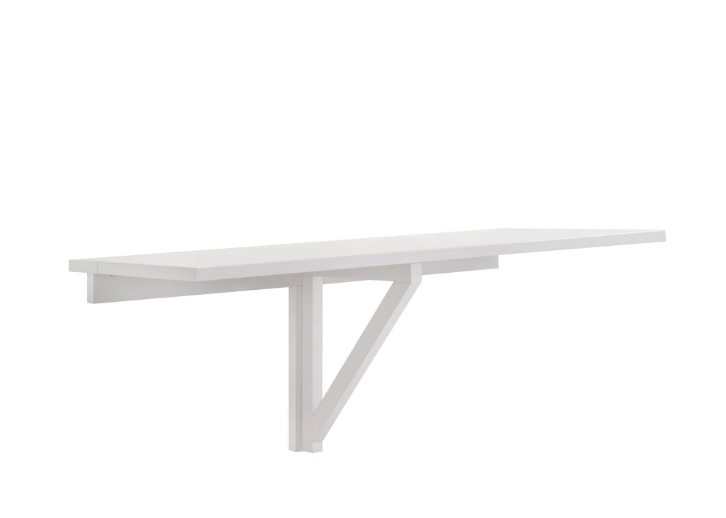 VISBY DROP LEAF TABLE , white