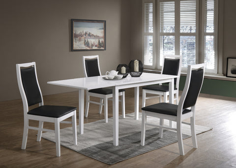 Orust table 120x70 + 4 Landsort chairs