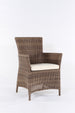 Pre-order. Ottawa 1+6 , teak table and synthetic rattan dining set