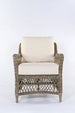 Rhode Island Synthetic rattan armchair