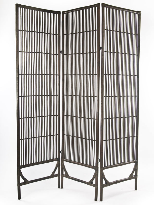 Rattan screen room divider 2