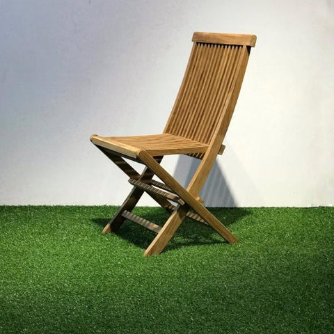 JAVA outdoor folding chair, teak