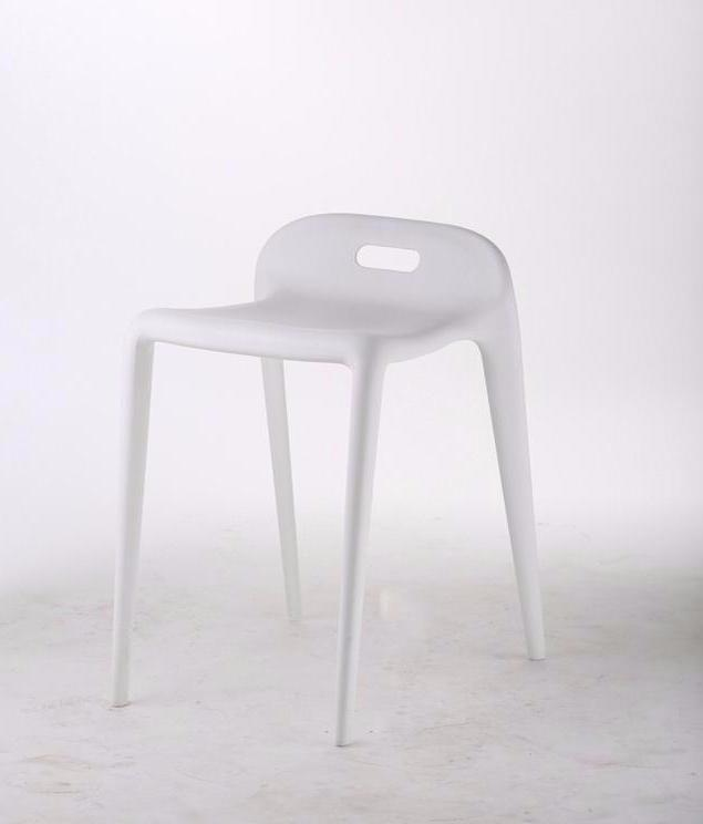Bambam  stool, white