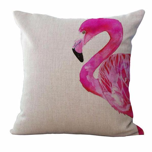 Flamingo pillow comfy and cosy