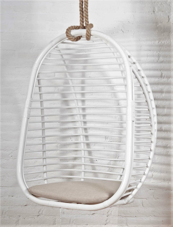 rattan hanging swing chair singapore