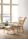 Honolulu Rattan Armchair, Walnut