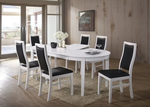 Gothenburg Oval table + 6 Landsort chairs