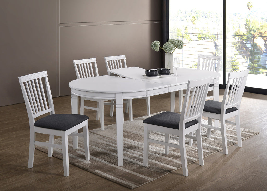 Gothenburg Oval table + 6 Lerdala chairs