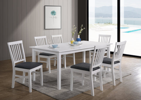 Gothenburg table 180x90 + 6 Lerdala chairs