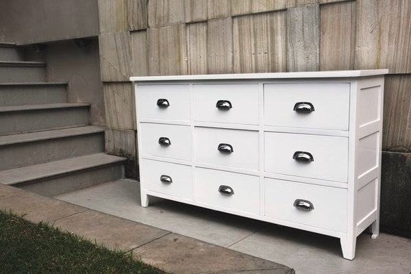 Julia chest of 9 drawers 150cm, clearance
