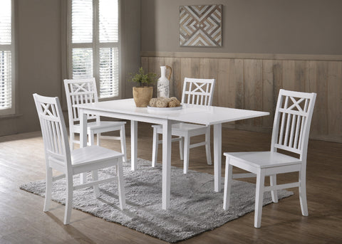 Orust table 120x70 + 4 Orust chairs