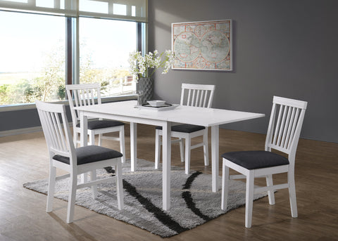 Orust table 120x70 + 4 Lerdala chairs